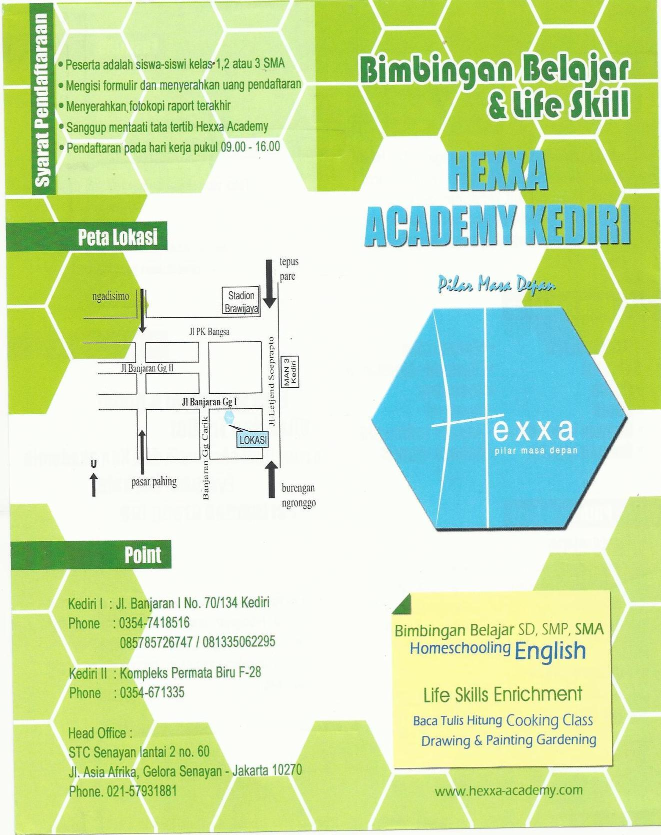 Brosur Program Sma Hexxa Academy